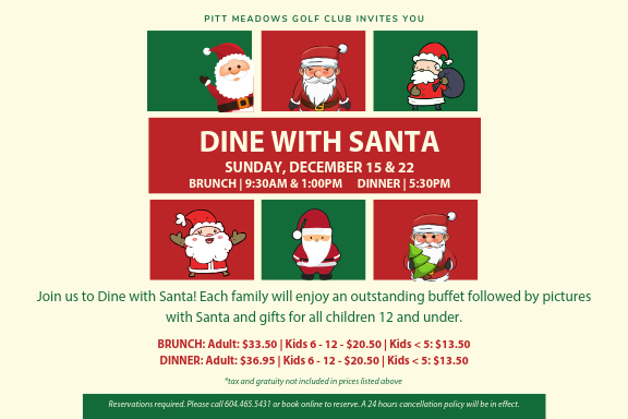 Join us to Dine with Santa!