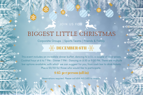 Join us for Biggest Little Christmas Party!
