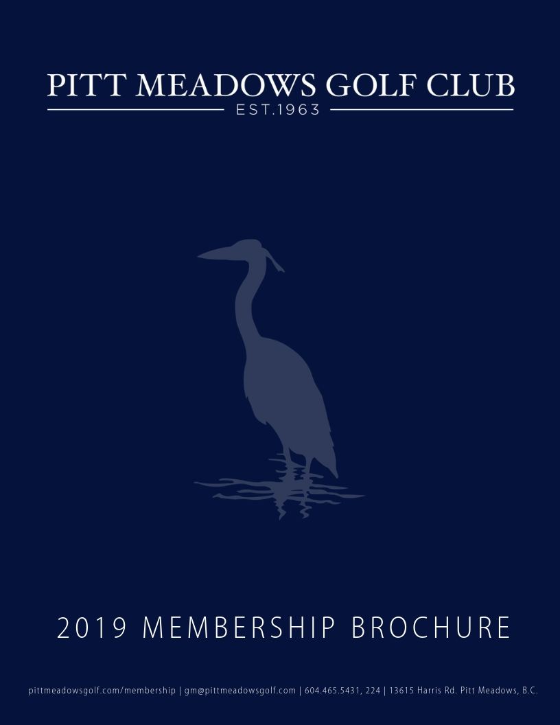 2019 Membership Brochure Cover