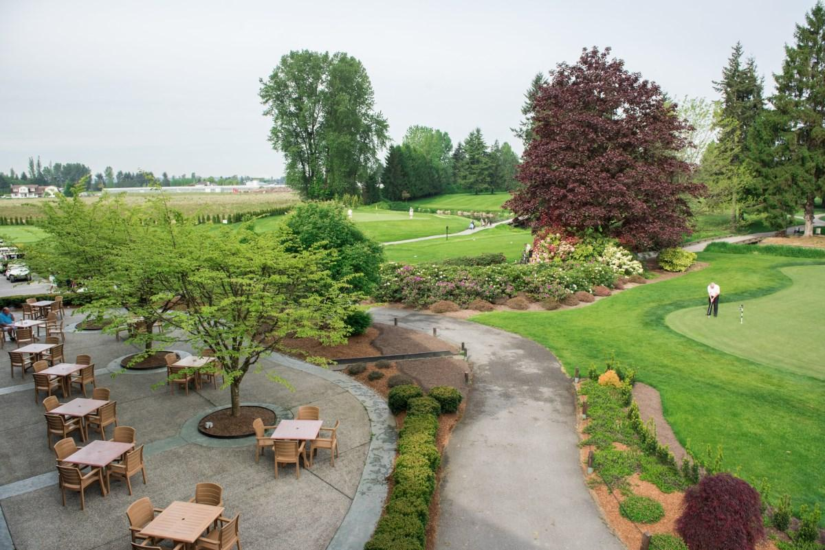 Pitt Meadows Golf Club Patio and 9