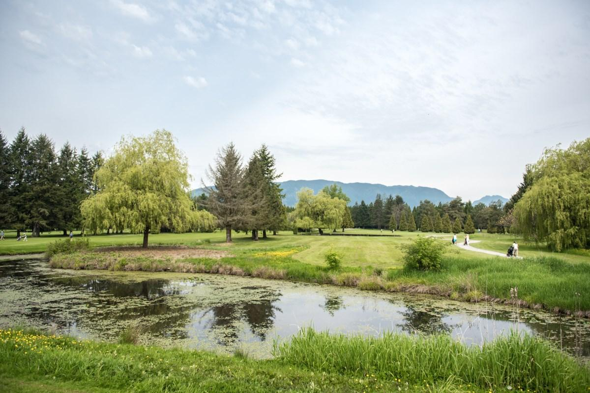 Pitt Meadows Golf Club Water Shot