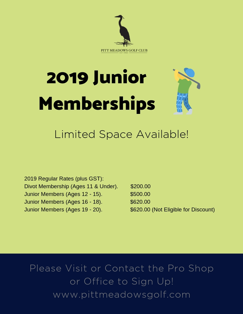 junior membership 2019 Dec 19 offer 3